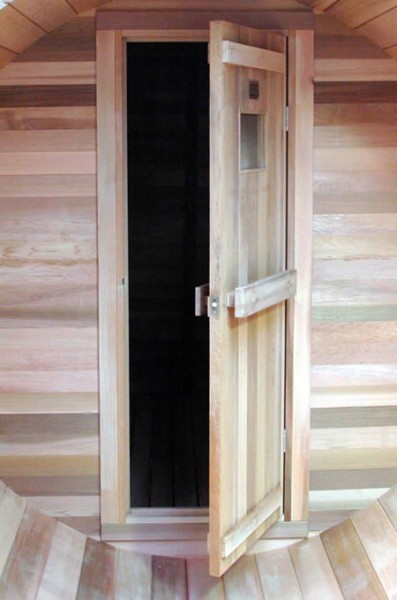 Cedar Traditional sauna door