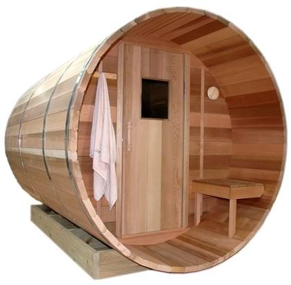 2.7m Barrel Sauna