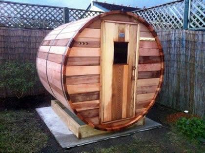 Ukko Standard Barrel Sauna