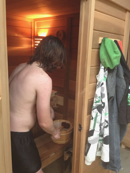Ukko own sauna