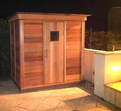 Ukko Sauna with roof package