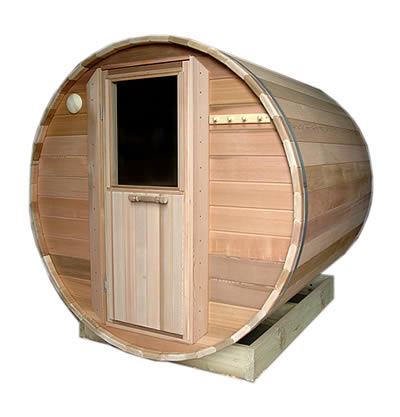 2.1m long Ukko Barrel Sauna