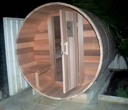 Ukko 2.7m barrel sauna
