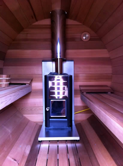 Wood fired heater