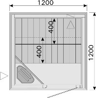 Sauna Floor Plan