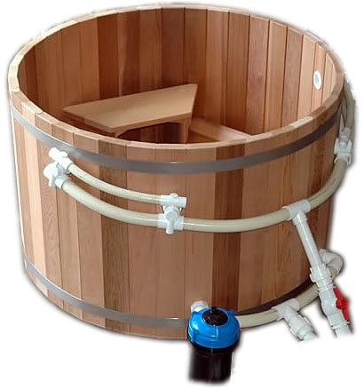 900mm height hot tub