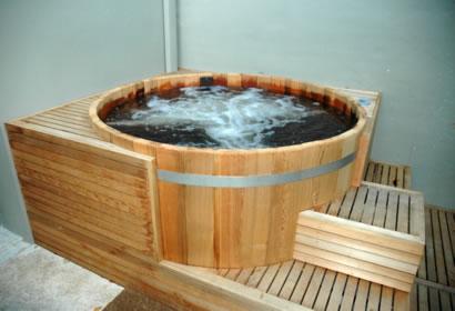 Cedar Tub Equipment Enclosure