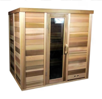 Sauna installed