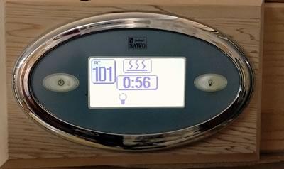 Digital sauna controls