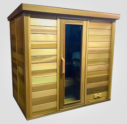 Sauna with roof package