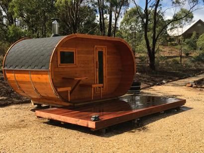 Ukko Oval Sauna