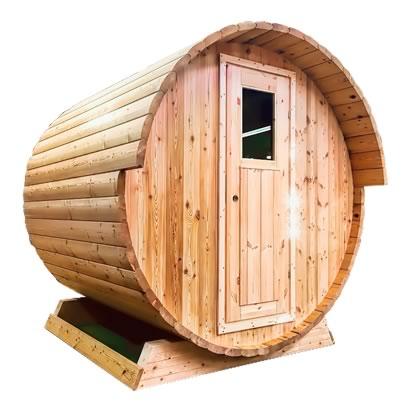 Ukko Larch Barrel Sauna